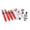 Kit de suspension Sport con amortiguadores Koni regulables.