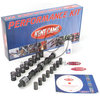 Kit arbold de levas Kent Cams MD256, Mild Road, slot drive, 1000-6500 RPM, 21-53/53/21