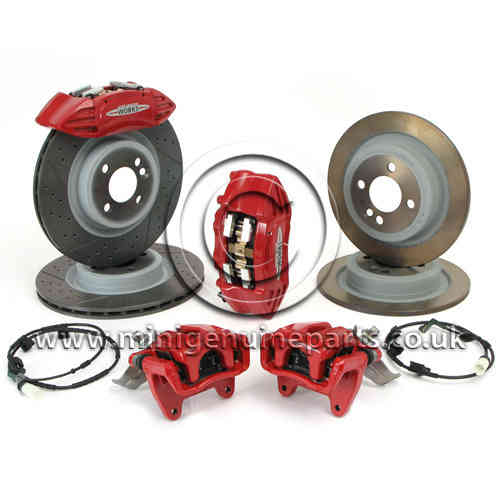 Kit de frenos JCW Brembo para Mini, R55/R56/R57.